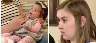 Beş Günlük Bebekleri Yemek Yemeyi Reddediyordu – Gerçeği Farkedince Bütün Aile Hastaneye Koştu