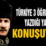 Türkiye 9. sınıf öğrencisi 3 gencin Yazdığı Yazıyı Konuşuyor..!