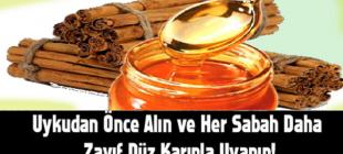 Uykudan Önce Alın ve Her Sabah Daha Zayıf Düz Karınla Uyanın! Sadece 3 malzeme ile …