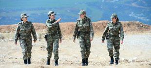 Zeytin Dalı Harekatı'nın kadın subayları destan yazıyor