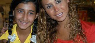 Ceylan'ın kızı Melodi büyüdü annesinin kopyası oldu