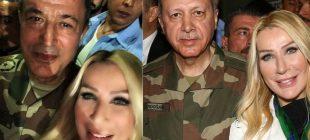 Fotoğraf rekor kırdı! Seda Sayan'dan, Genelkurmay Başkanı Akar'la ce cumhurbaşkanıyla  selfie
