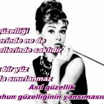 Audrey Hepburn'dan Kadınlara Çok Önemli Tavsiyeler.. Keşke Daha Önceden Öğrenseydim Diyeceğiniz Şahane Tüyolar
