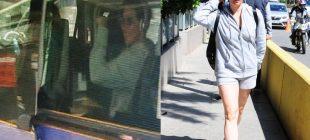 Meltem Cumbul Boş Taksi Bulamayınca Otobüse Bindi İlginç Görüntüler Ortaya Çıktı