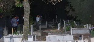 Gizemli kızın görüldüğü mezarlığa akın ediyorlar!