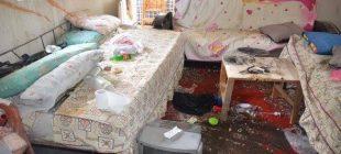 Evi talan eden hırsızların, buzdolabının üzerine yazdığı yazı şoke etti