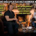 Orhan Gencebay, 50 yaşındaki oğluyla ilk kez kamera karşısında