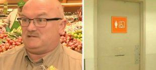Tuvaletten Gelen Çığlıkları Duyan Market Müdürü İçeriye Girince Gözlerine İnanamadı