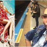 """Toplu taşımaya binen şarkıcı Ebru Yaşar mutluluğunu paylaştı: """"Yaşasın metro"""