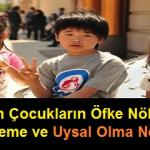 Japon Çocukların Öfke Nöbeti Geçirmeme ve Uysal Olma Nedenleri
