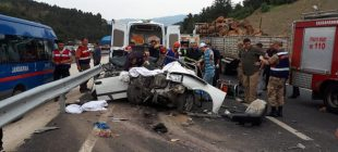 Akıl almaz kaza 3 genç kız işte böyle hayata veda etti