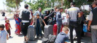 Bayram ziyaretine giden 42 bin Suriyeli Türkiye'ye döndü