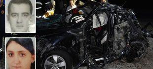 Konya'da feci kaza! Doktor çift hayatını kaybetti