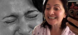 Ağlayarak ötenazi isteyen acılı kadın aylar sonra ilk kez gülebildi