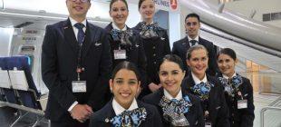"""THY'nin """"Yabancı kabin memurları"""" ilk uçuş için sabırsız"""