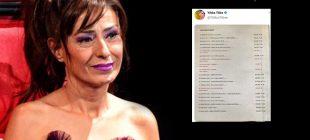 Yıldız Tilbe, yanlışlıkla konserlerde aldığı ücretleri paylaştı