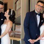 Kayahan'ın eski eşi İpek Açar sevgilisi Alper Kömürcü ile evlendi! İşte düğünden kareler